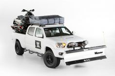 The DC Tacoma debuted at the 2013 SEMA Show and will be hitting the road for the Dew Tour this winter