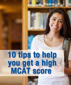 MCAT prep tips for a high MCAT score. Great blog! Link: https://www.mcat-prep.com/mcat-blog/10-ways-you-can-get-a-higher-mcat-score/