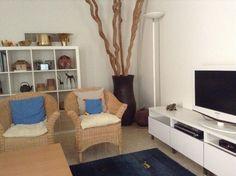 Wohnzimmer mit Lianen