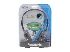 Panasonic RP-HT21 Lightweight Headphones with XBS Port. NEW. SEALED IN PACKAGING #Panasonic