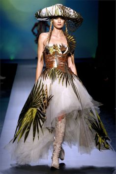 Jean Paul Gaultier dress, Spring 2010, Haute Couture collection
