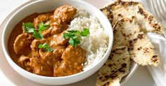 Warm up this winter, with a traditional butter chicken curry. Use light cream