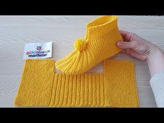 Free Knitting Pattern for Easy Cozy Toes BootiesBooties to Crochet – Step by Step Guide - Design PeakLimon Çekirdeği ile Eviniz Her Zaman Mis Gibi Kokacak Crochet Socks, Crochet Baby, Knit Crochet, Baby Knitting Patterns, Knitting Stitches, Crochet Patterns, Knitted Booties, Knitted Slippers, Knitted Hats