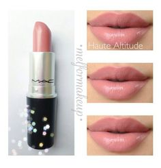 MAC lipstick Haute Altitude perfect color!