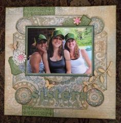I love this Florentine paper pack by Close To My Heart!  Feature a special photo by creating a scrapbook page and framing it.
