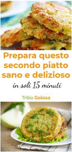 Questo secondo piatto delizioso e facile da preparare farà la felicità dei #vegetariani e delle mamme che cercano di far mangiare la #verdura ai bambini. Questi #hamburgersvegetariani sono deliziosi! #burgervegetali #ricettevegetariane #piattisani #verdure #tribugolosa #gourmettribe #golosiditalia #cucinaitaliana #italianrecipes #italianfood #yummy #foodlover #ricette #recipe #homemade #delicious #ricettefacili Vegetable Recipes, Vegetarian Recipes, Cooking Recipes, Healthy Recipes, Italian Dishes, Italian Recipes, Vegetable Lunch, Hamburger, Food Design