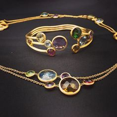 New arrivals! Colorful Marco Bicego jewels from the Jaipur collection!