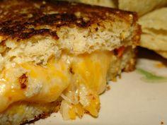 Gluten Free Tex Mex Millet Chia Mango Grilled Cheese.