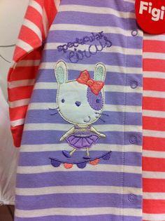 Spectacular Circus...Diseño de pijama para niñas | Figi's