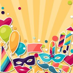 Vector carnival holiday background design 06 - https://www.welovesolo.com/vector-carnival-holiday-background-design-06/?utm_source=PN&utm_medium=welovesolo59%40gmail.com&utm_campaign=SNAP%2Bfrom%2BWeLoveSoLo