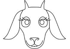 Hd Dog Mask Template 536x507 Pixels