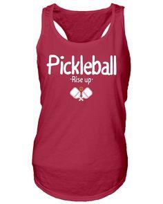"Pickleball ""Rise Up"" Women's Tank Top"