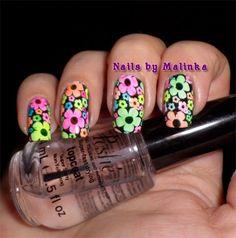 Nails by Malinka: Bloemen, Flowers BP-20