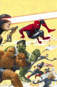 Marvel Mythos By: Paolo Rivera.