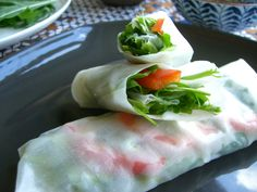 Street Food: Urban foraging and World Food. This is a recipe from the January month  Recipes from South East Asia  (Vietnam, Malaysia, Thailand, Burma, Cambodia, Indonesia, East Timor, Singapore, Philippines)  Rice wraps with chickweed, dandelion, and bittercress   Photo by Meredith Rosenbluth, Recipe design by Ceri Buckmaster  http://www.crowdfunder.co.uk/streetfood/