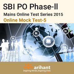 SBI PO phase-II Mains online test series https://onlinetyari.com/store/sbi-po-mains-online-mock-test--v-by-arihant-publications-i575.html #onlinetyari #mocktestseries