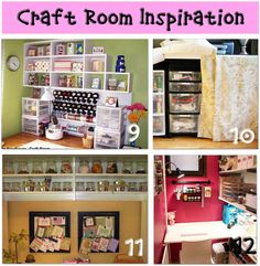 I am going to do number 10 and 11 in our craft room. Glad to have some photos to show Mom what I want to accomplish.