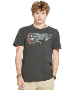 Denim & Supply Ralph Lauren Cotton Jersey Graphic T-Shirt
