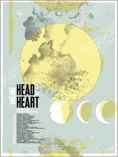 The Head and the Heart - Design:   Sasha Barr