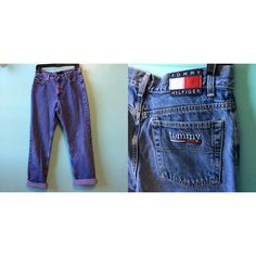 Vintage Tommy Hilfiger jeans high waisted by TheVintageIndigo