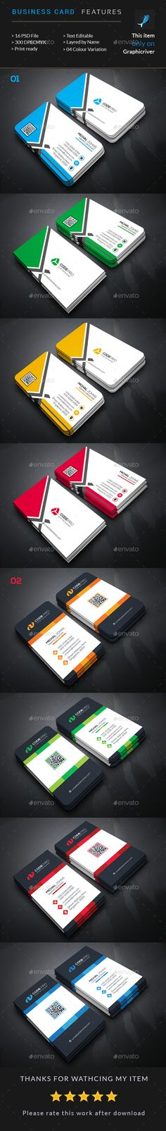 Corporate Business Card Bundle (2 In 1) - Business Cards Print Templates Download here : http://graphicriver.net/item/corporate-business-card-bundle-2-in-1/16799712?s_rank=39&ref=Al-fatih