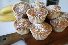Bananmuffins Baking Recipes, Cake Recipes, Food Cakes, Tart, Goodies, Lunch, Breakfast, Desserts, Christmas