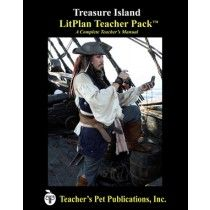 LitPlan Teacher Pack For Treasure Island--Complete unit of study; open and teach. Includes study questions, vocabulary, daily lessons with assignments & activities, unit tests, writing assignments, review materials...everything you need.
