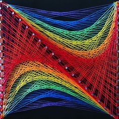 Aline Campbell: string art