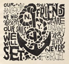 anchors ...friends we never forget