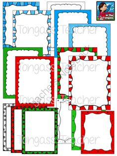 FREE Winter Frames Clipart Bundle from tongassteacher on TeachersNotebook.com (32 pages)  - Happy Holidays! This 32 piece clipart product frame bundle features a variety of winter and Christmas colored frames! It includes 12 individual, colored frames (as seen in the preview) and 4 individual black and white frames (1 of each style). Includes hi