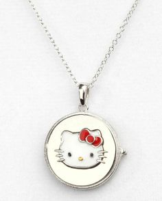 Love this #HelloKitty locket. Keep loved ones close to the heart!