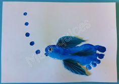 Mauriquices: O peixinho vai nadando...