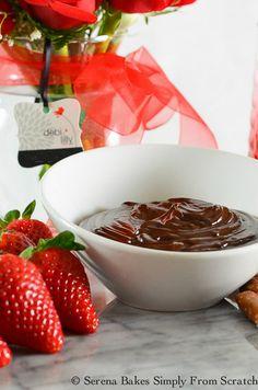 Fudge Chocolate Fondue   Serena Bakes Simply From Scratch Fondue Recipes, Milkshake Recipes, Yummy Recipes, Healthy Recipes, Delicious Desserts, Dessert Recipes, Good Food, Yummy Food, Fudge Sauce