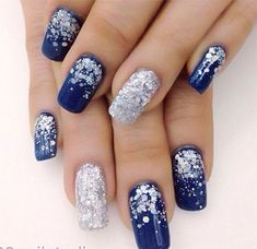 Image result for winter nail designs 2017
