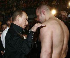 プーチンとヒョードル