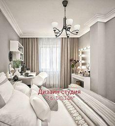 Дизайн спальни в скандинавском стиле с преобладанием минимализма. Характерным отличием стиля является выразительность и предельная лаконичность, причем, во всех аспектах: в цветовой гамме, наличии мебели, обстановке и аксессуарах. Вообще данный стиль предназначен для любителей простора и легкости пространства. Особенно хорош этот стиль для тесных квартир, что в панельных домах, пожалуй, единственная возможность преобразиться и добавить в интерьер свободного места и легкости. Получилось…