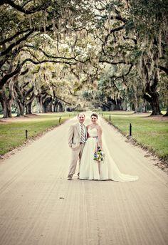 A Charleston wedding photo taken by Clay Austin Photography