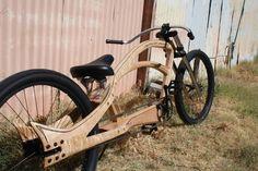Wooden Bicycle, Wood Bike, Chopper, Bicycling Magazine, Lowrider Bike, Cruiser Bicycle, Fat Bike, Bike Frame, Bike Design