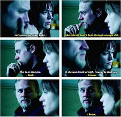 Jax and Tara..all they ever wanted was to protect their Sons...