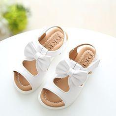 2017 лето новый стиль обувь для девочек корейской версии сандалии ребенка Принцесса обувь бант ажурный пляжная обувь детская обувь прилив