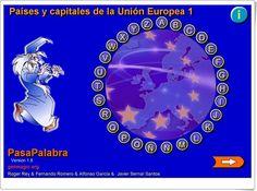 """Pasapalabra """"Países y capitales de la Unión Europea"""" (Genmagic.org)"""