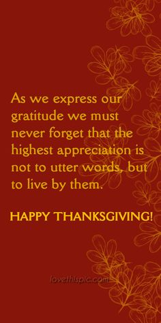 Gratitude happiness thanks gratitude thanksgiving pinterest pinterest quotes friendships blessings thanksgiving quotes