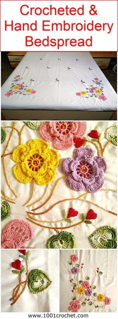 Okay, before we go into the details of the project of the day, I would like to ask that how many ladies among you have tried some of the patterns of crocheted bed spreads that we presented in some earlier projects? All of them were carrying the detailed description and along with the each and every detail of the project that really made the things far easier and handier for you. If you tried them then this one is just going to be a piece of cake for you trust me. So let's start with this…