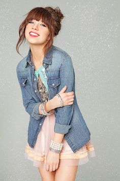 From candy-colored skirts to faux fur vests, check out Carly Rae Jepsens favorite seasonal picks from Wet Seal