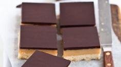 Yum! Classic Aussie choc caramel slice