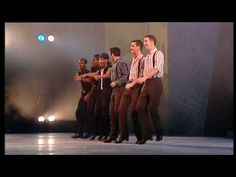 Riverdance Trading Taps - YouTube. Shows differences/similarities between Irish clogging and American tap dancing