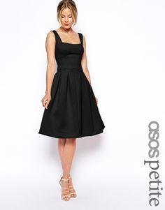 ASOS PETITE Debutante Midi Dress