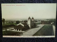 1907 N.P. Railroad Passenger Depot Bismarck, ND North Dakota PC
