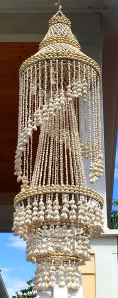 46 best shell chandeliers images on pinterest chandeliers i would like to make one of these how do i do it aloadofball Choice Image