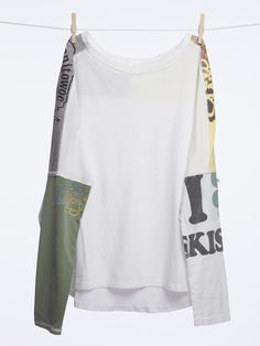 Irish Kisses Long Sleeve Tee. Mix of old and new. Shop at Akogare.com. #vintage